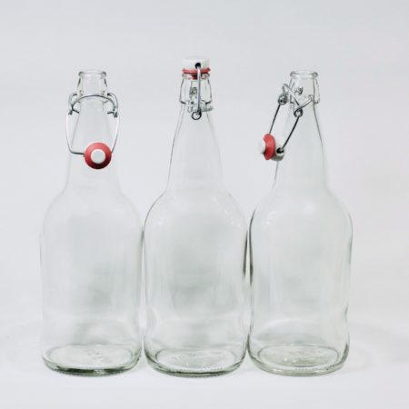 3 swing top bottles for a bundle