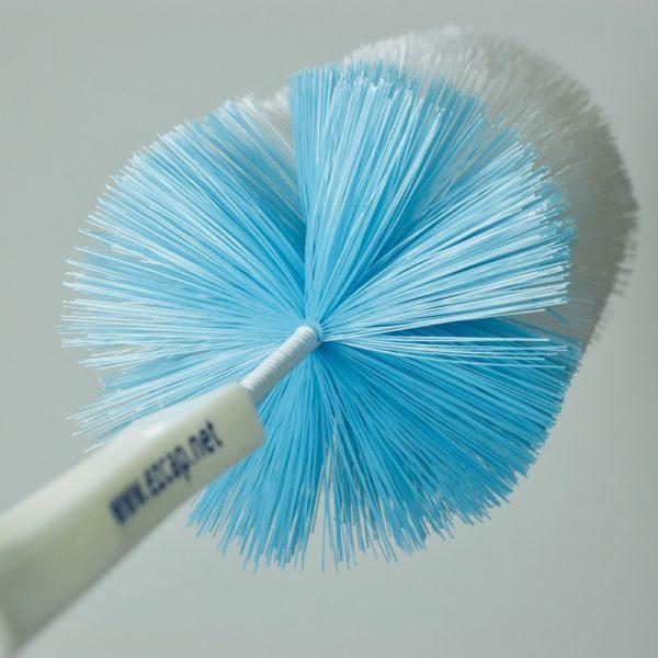 downward frame of bottle brush from handle