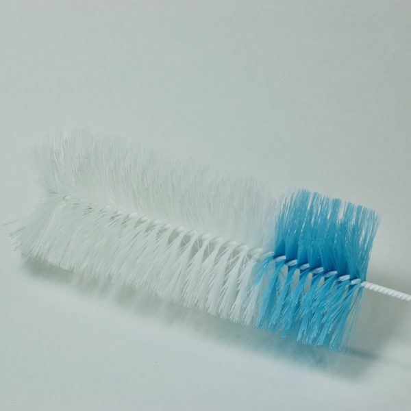 Bristle section of bottle brush